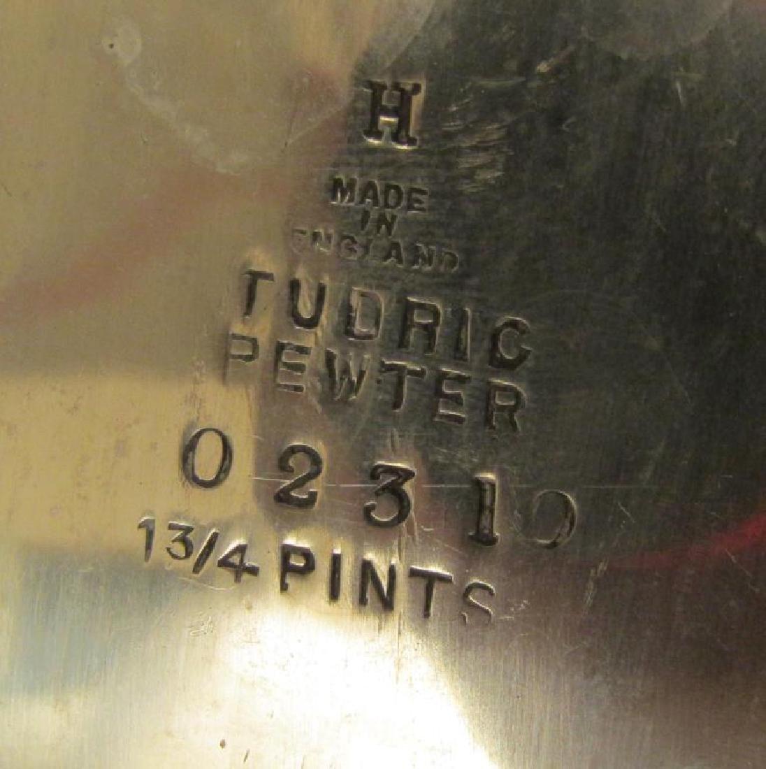 4 Piece Tudric Pewter Coffee and Tea Set - 7
