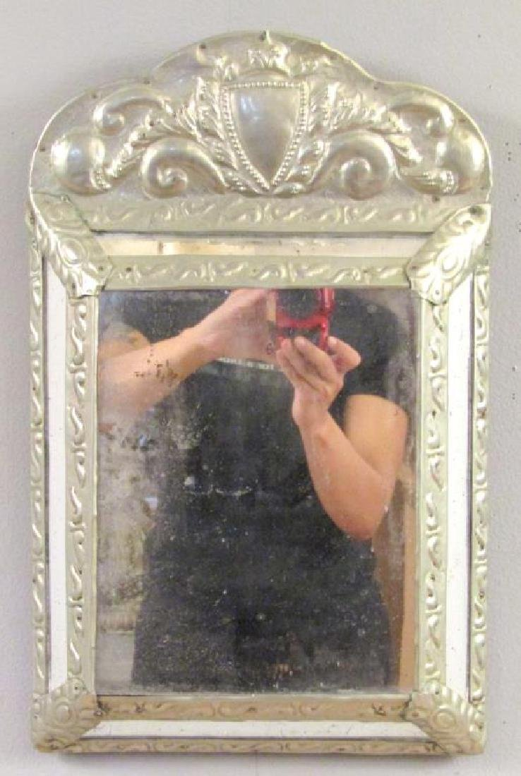 Small Metal Framed Mirror