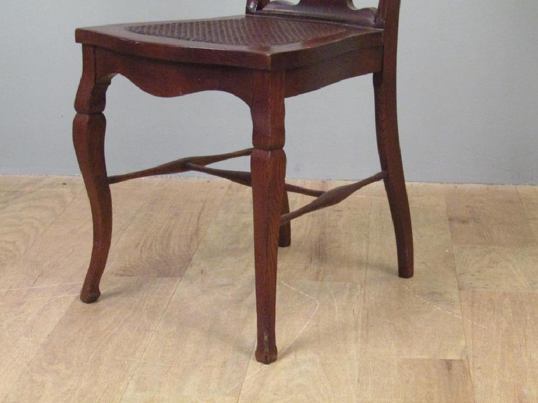 Pair American Oak Side Chairs - 6