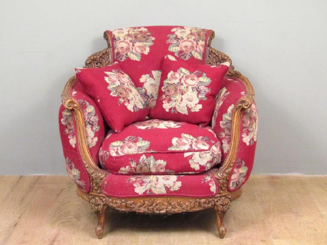 Victorian Style Club Chair