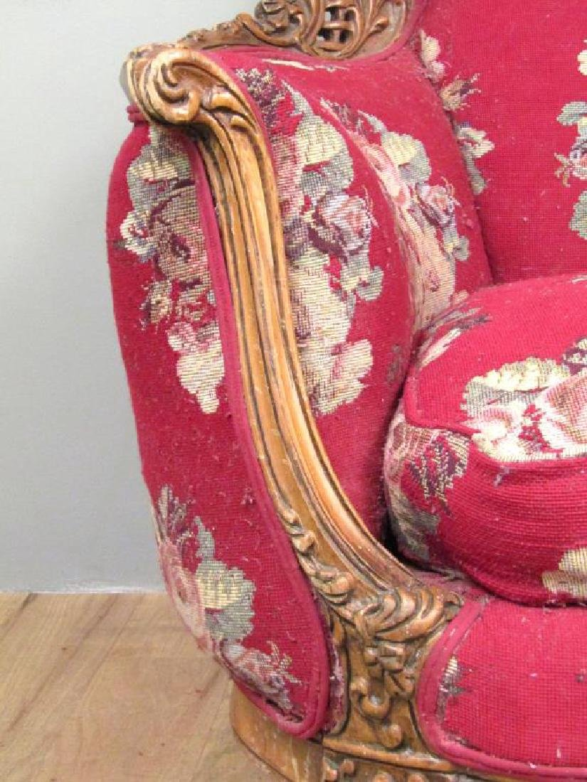 Victorian Style Club Chair - 3