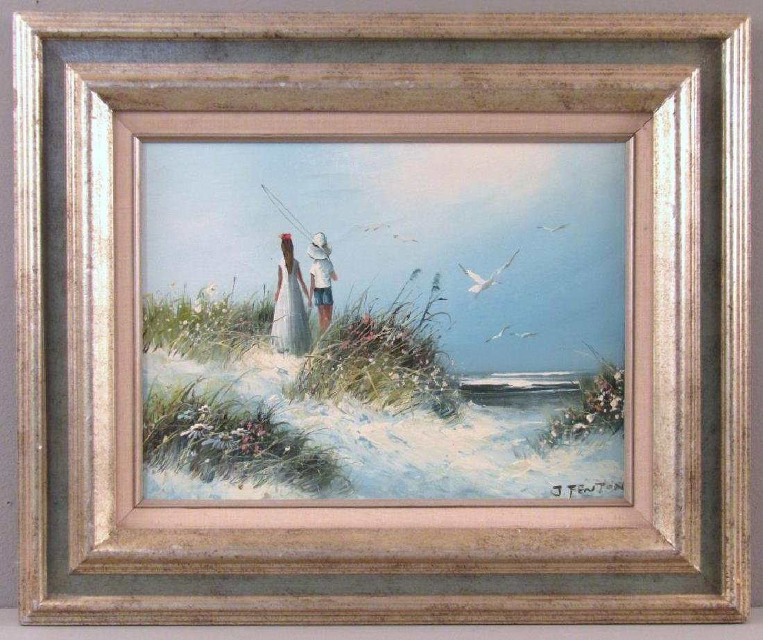 Signed J. Fenton - Oil on Canvas - 2