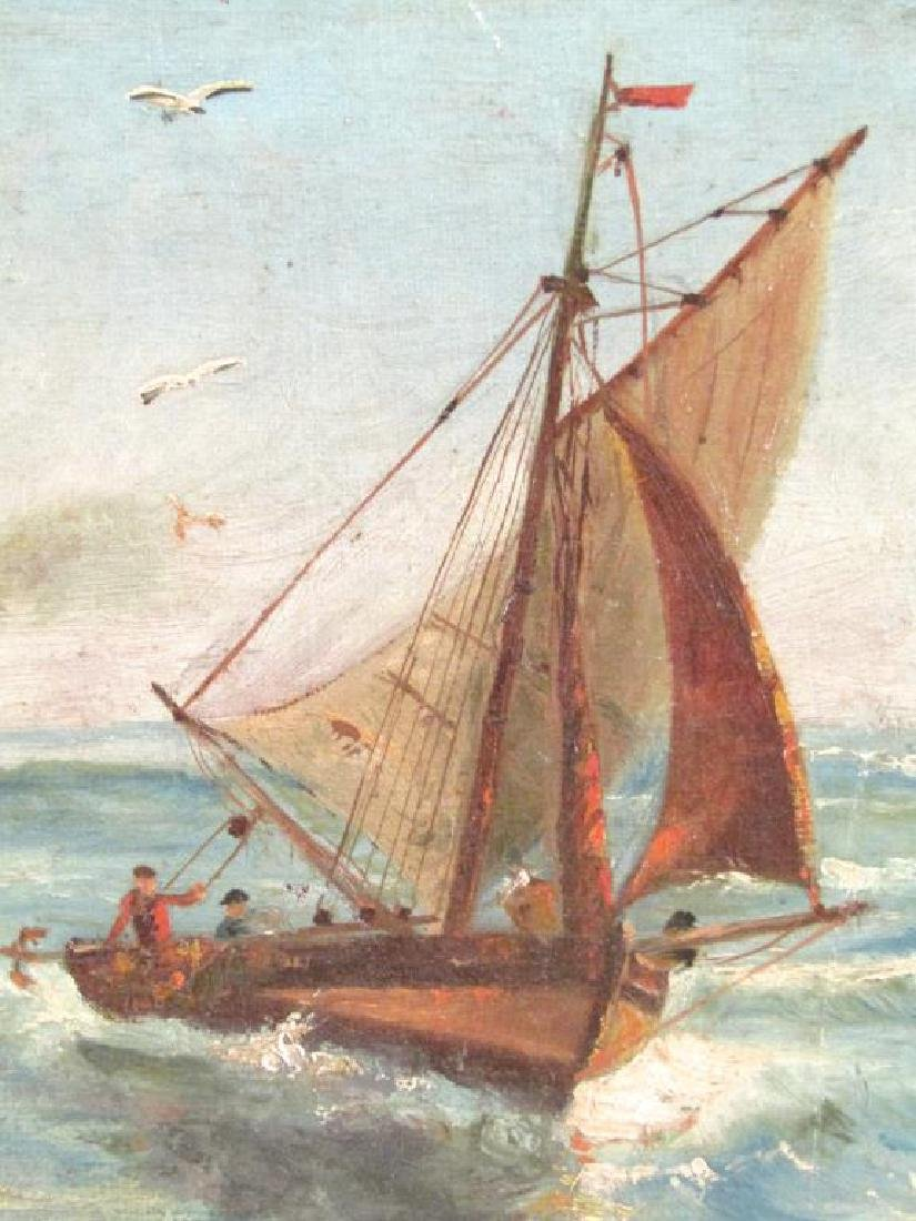 Signed F. Miranda - Oil on Canvas - 4