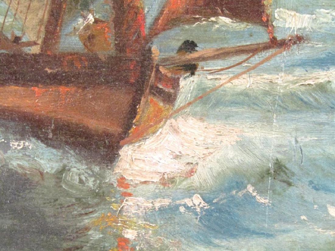 Signed F. Miranda - Oil on Canvas - 5