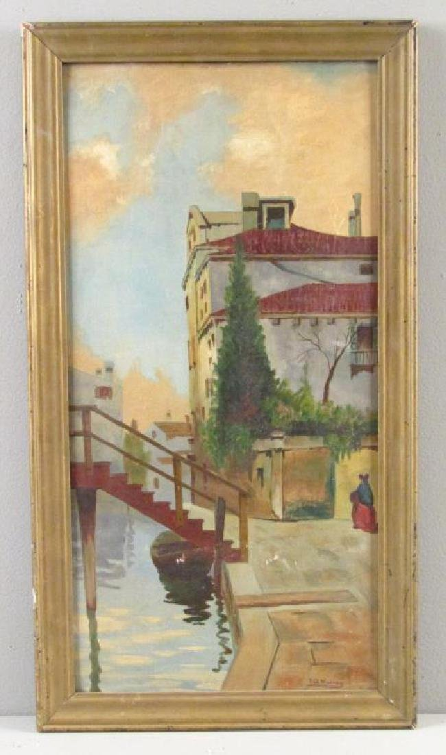 Signed T. G. Maling - Oil on Canvas Board - 2