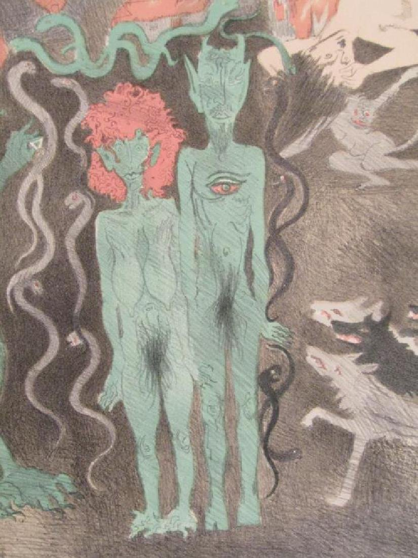 Raphael Soyer - Lithograph