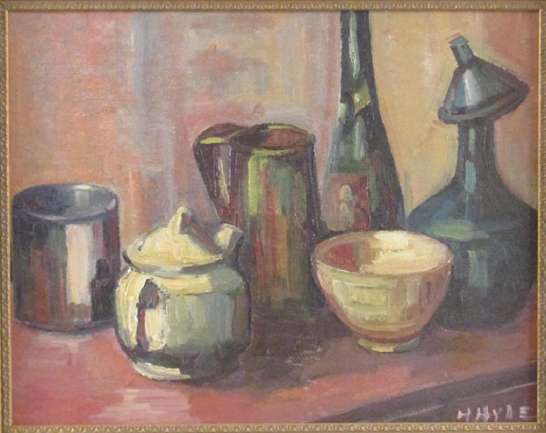 Helen Hyde (American, 1868 - 1919) - Oil on Board