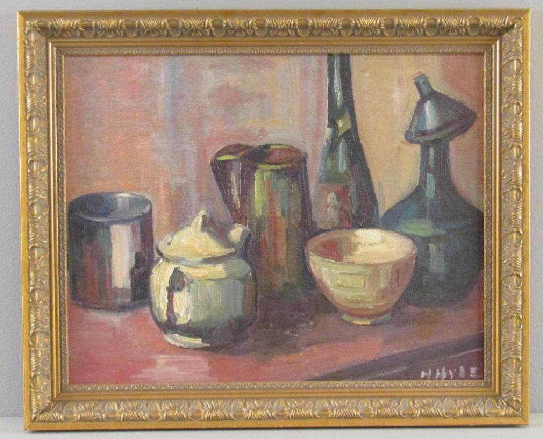 Helen Hyde (American, 1868 - 1919) - Oil on Board - 2