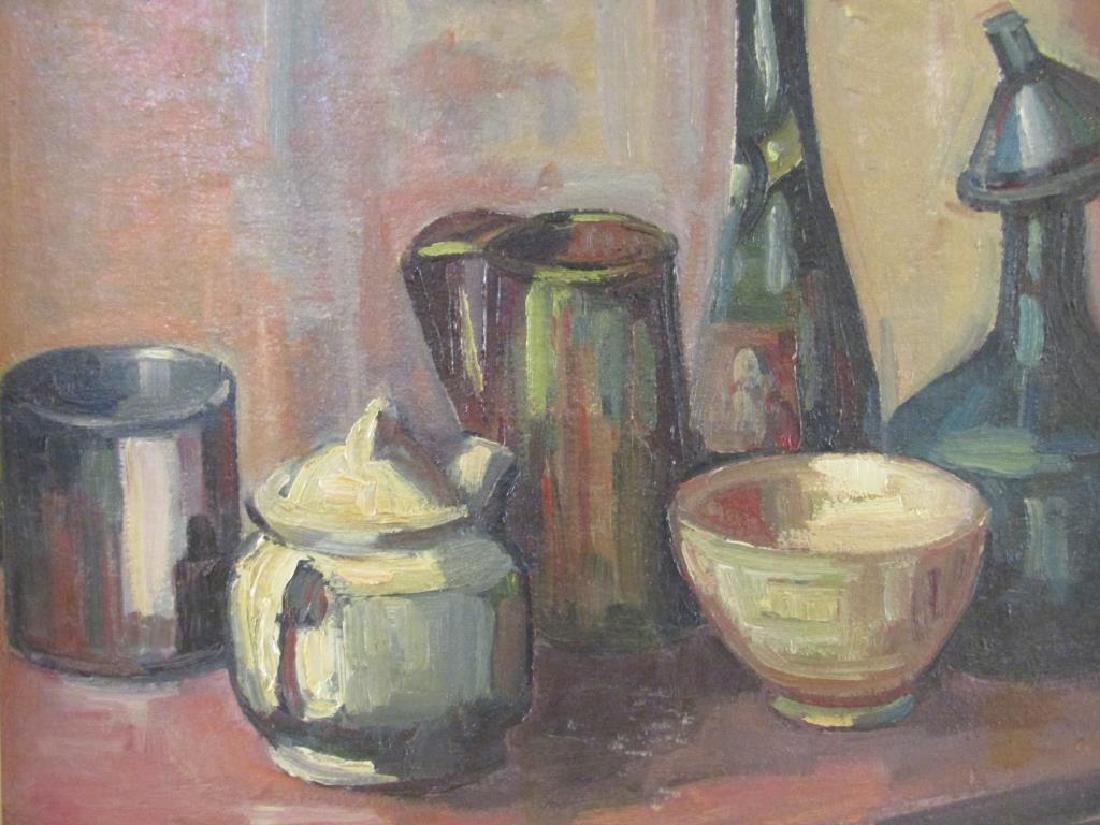 Helen Hyde (American, 1868 - 1919) - Oil on Board - 3