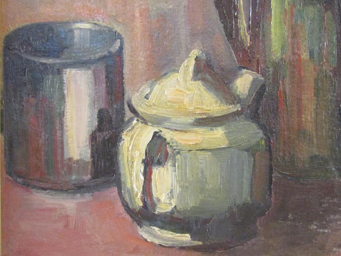 Helen Hyde (American, 1868 - 1919) - Oil on Board - 4