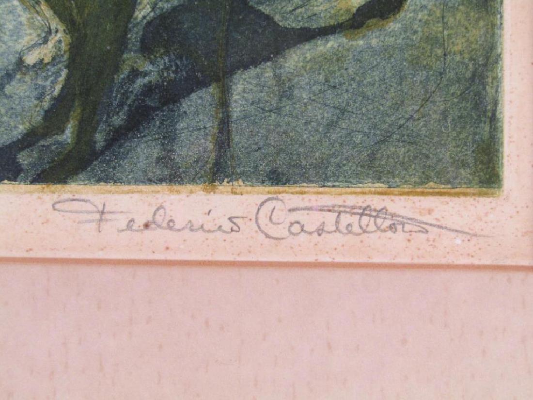 Federico Castellon - Lithograph - 7