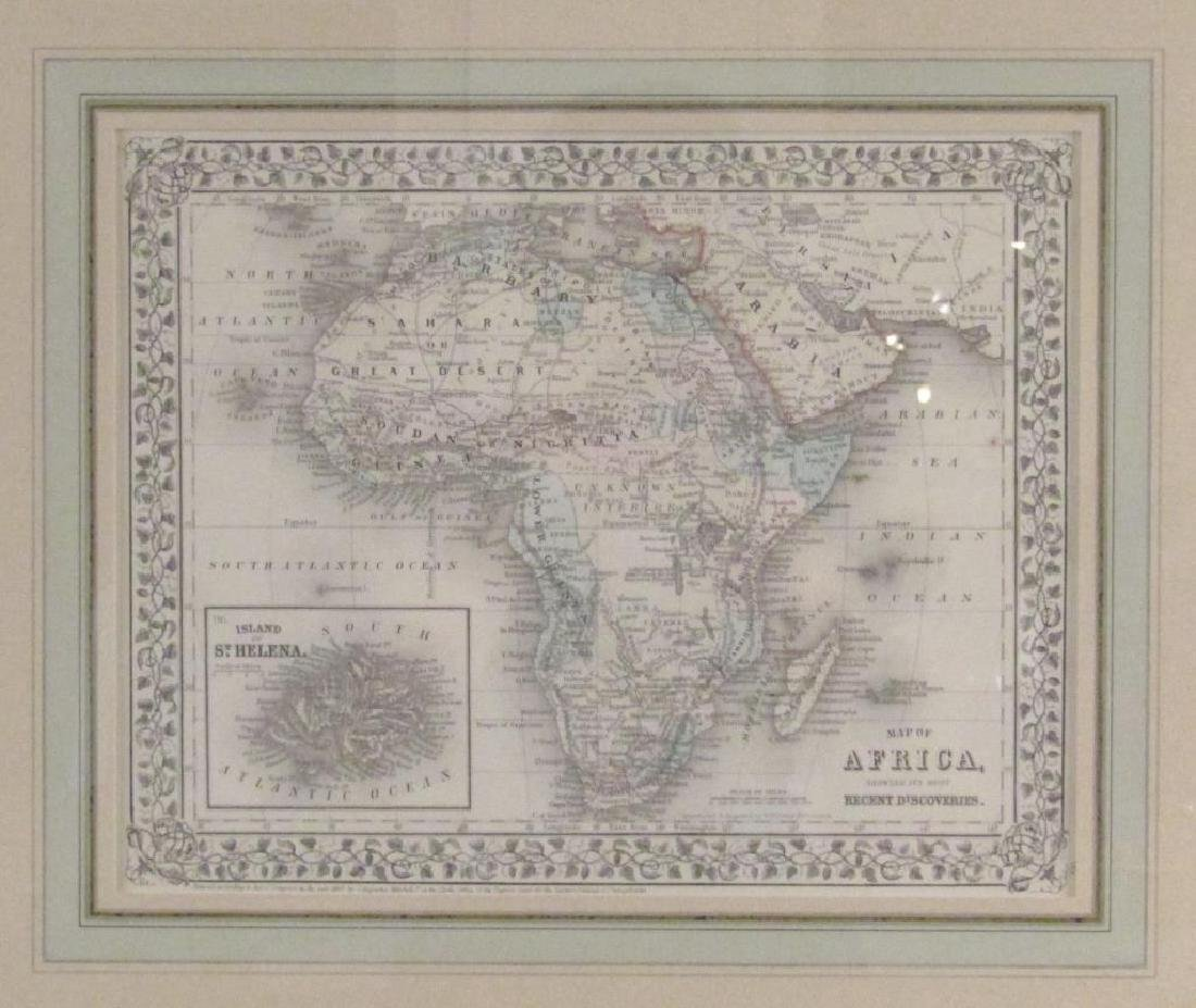 W. Williams - Colored Map of Africa