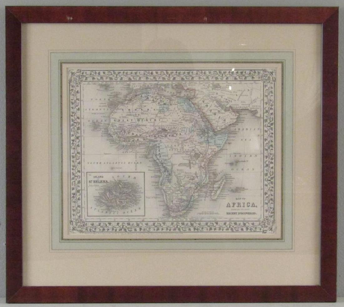 W. Williams - Colored Map of Africa - 2