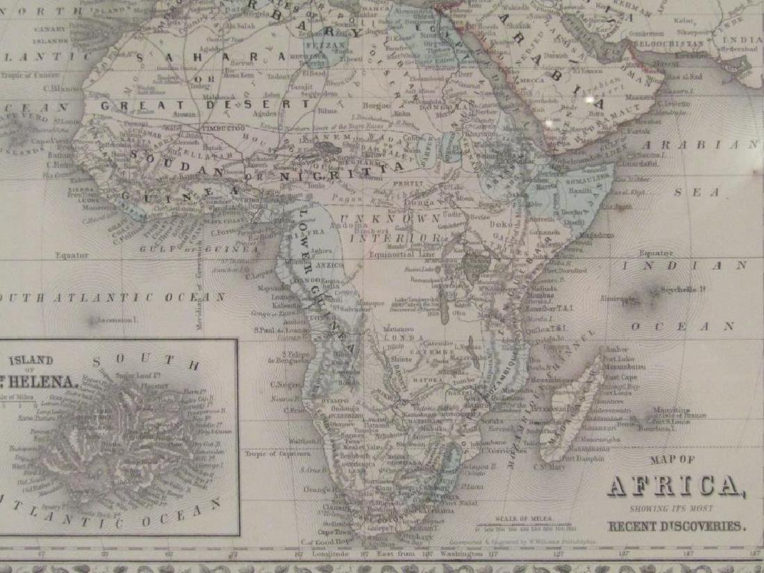 W. Williams - Colored Map of Africa - 3
