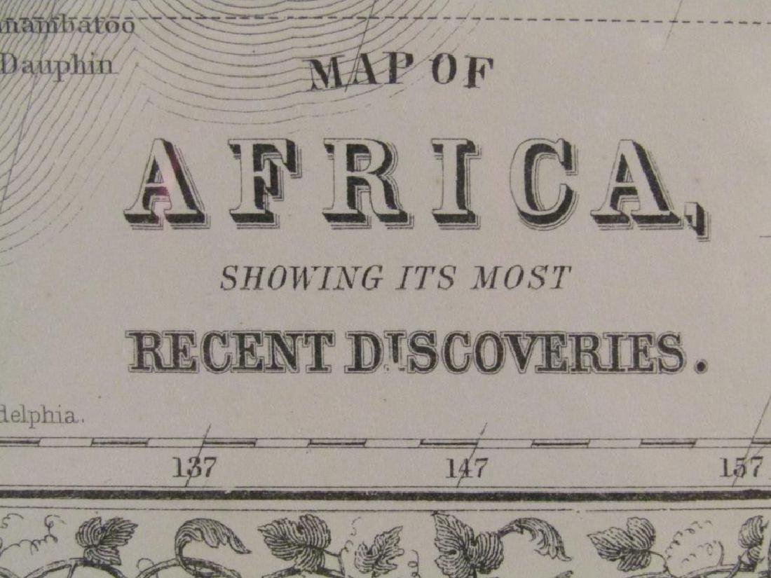W. Williams - Colored Map of Africa - 7
