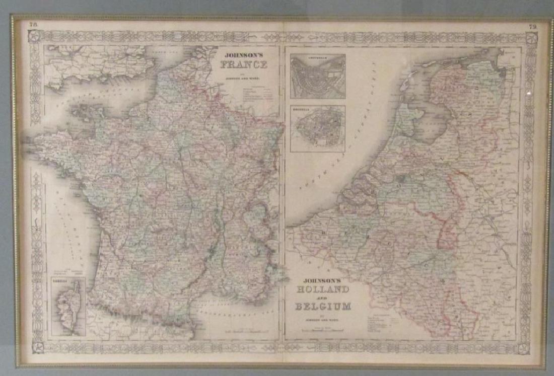 Johnson and Ward Map