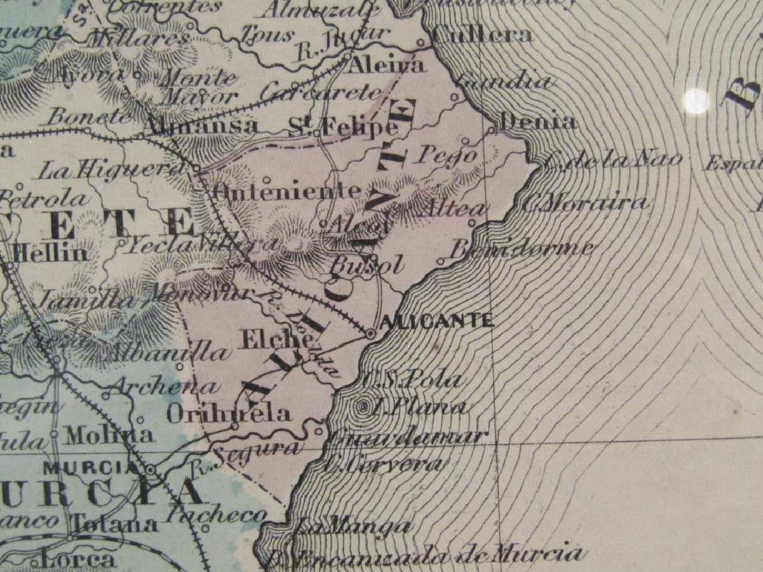 A.J. Johnson Map of France, Spain, and Portugal - 9