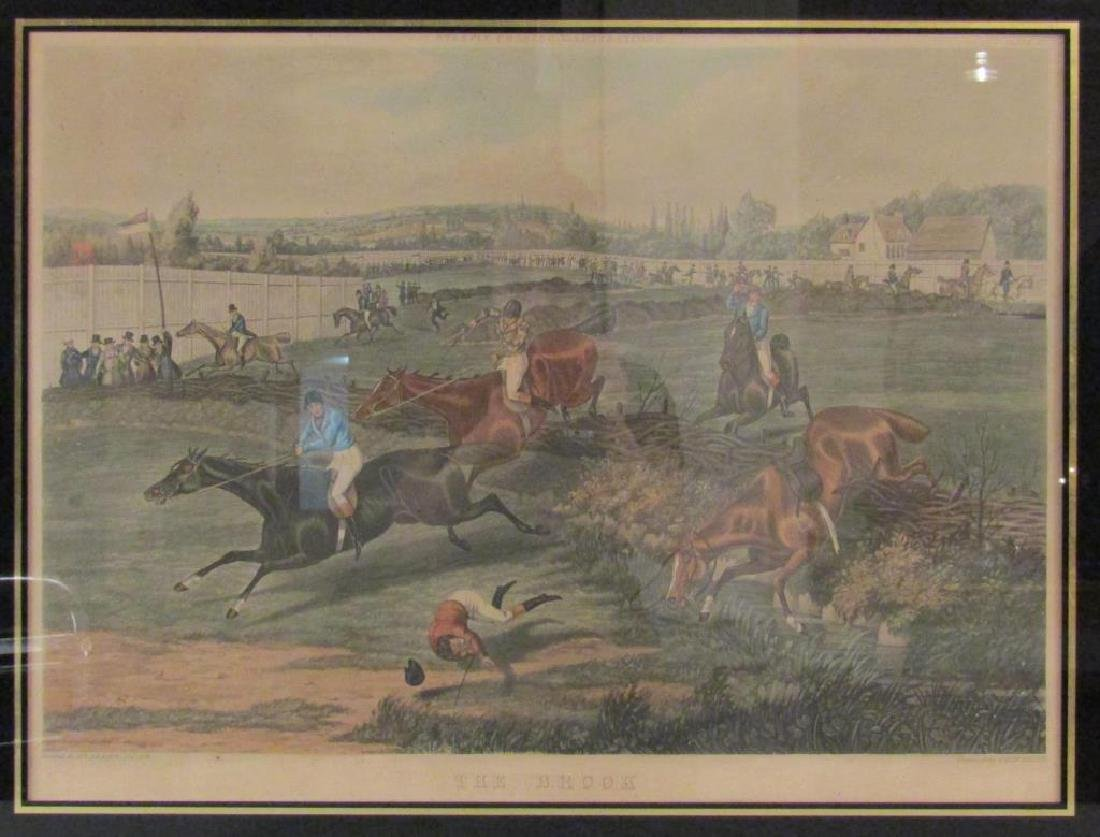 After Alken - Hand Colored Engraving