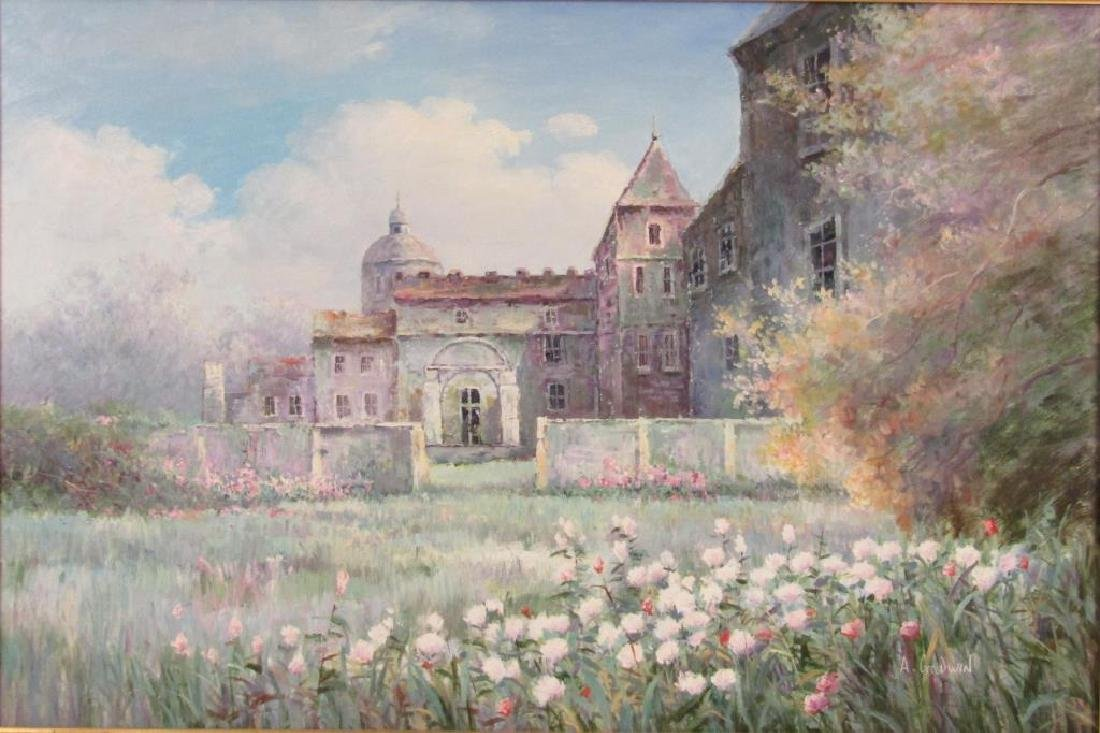 Signed A. Goodwin - Oil on Canvas