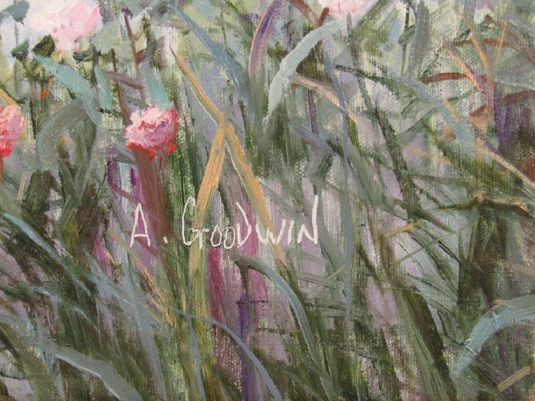 Signed A. Goodwin - Oil on Canvas - 4