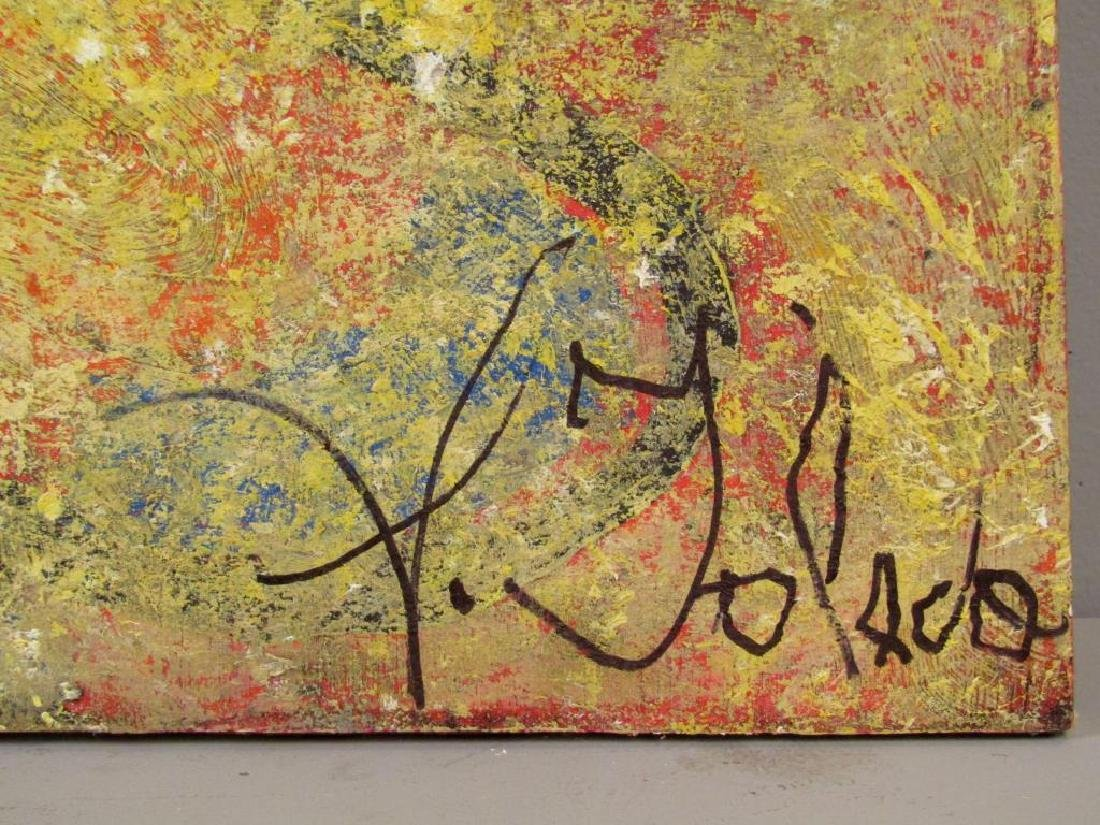 Sidney Toledo - Oil on Canvas - 5