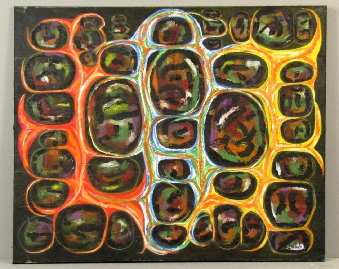 Sidney Toledo - Oil on Canvas