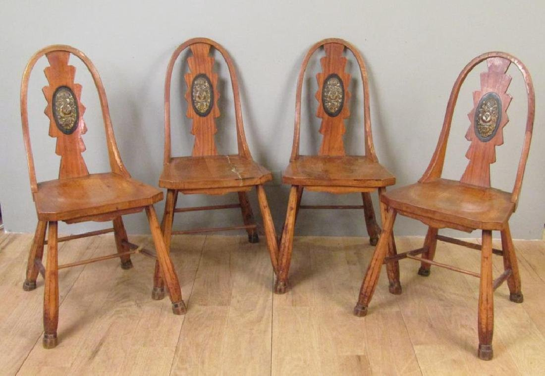 Set of 4 Vintage Side Chairs