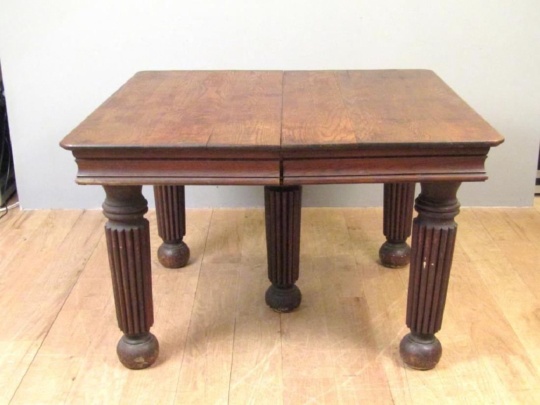 American Turn of the Century Dining Table
