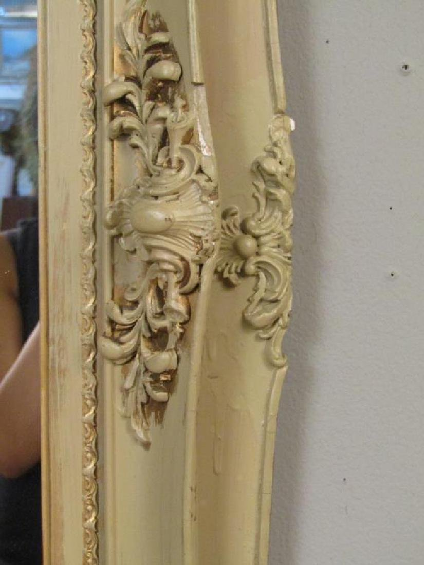Painted Gesso Mirror - 3