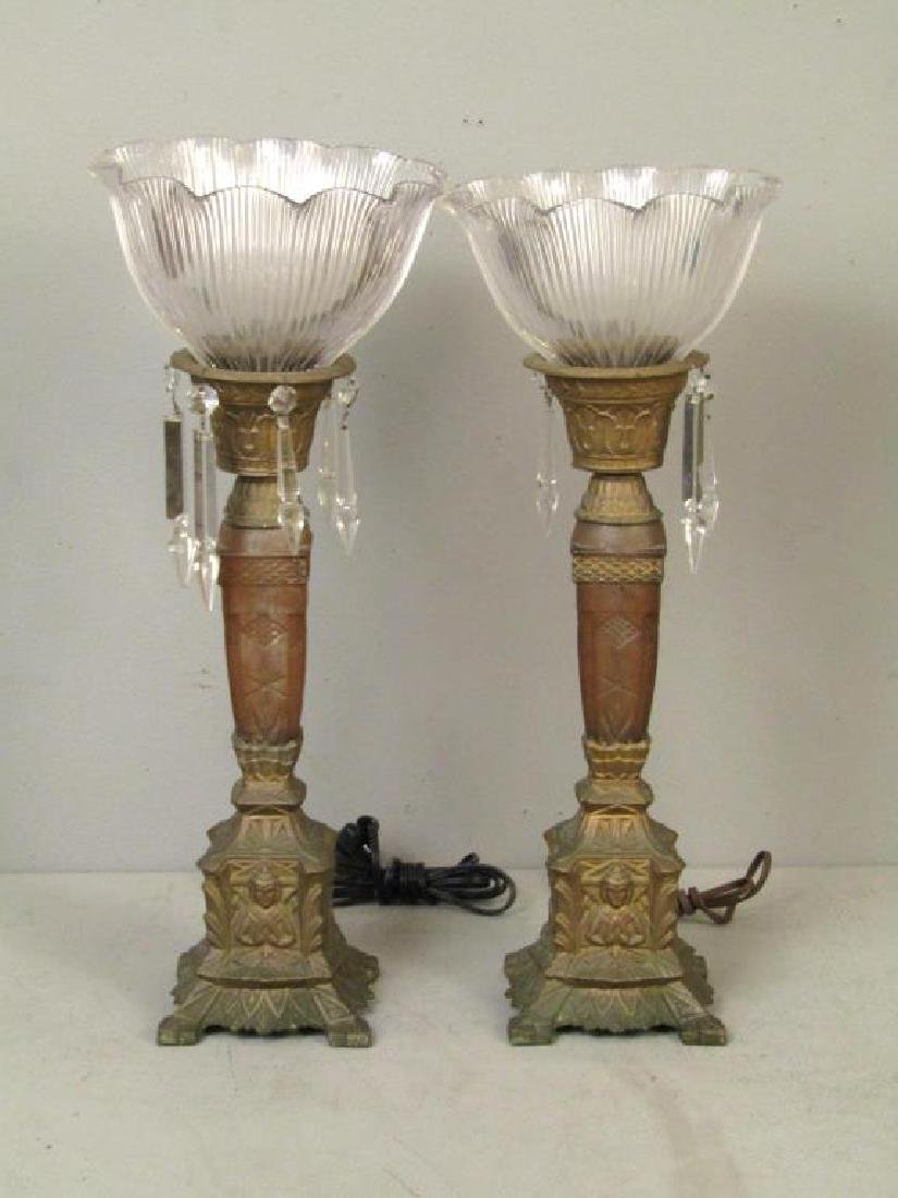 Pair and Single Table Top Lamps - 3