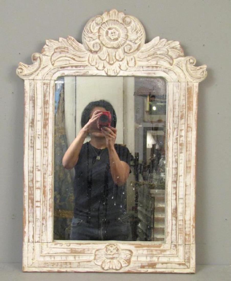 Painted Wood Mirror