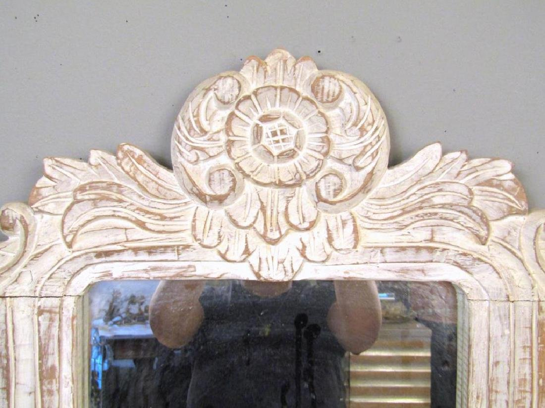 Painted Wood Mirror - 2