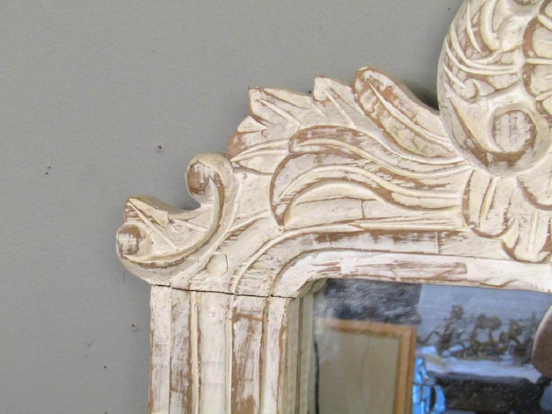Painted Wood Mirror - 3