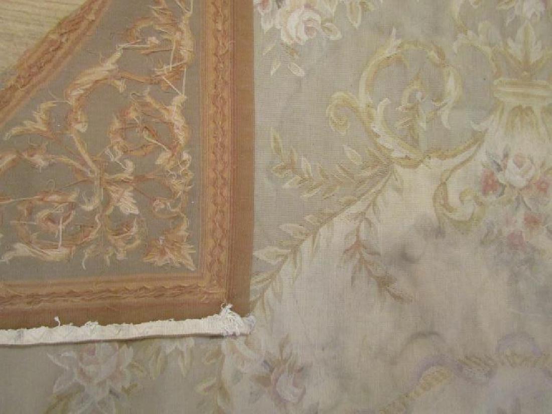 """Contemporary Aubusson Carpet  7'10"""" X 9'10"""" - 8"""