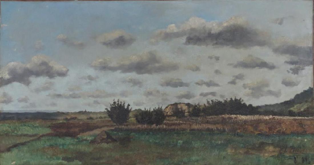 Léon Germain Pelouse (French, 1838-1891)- Oil