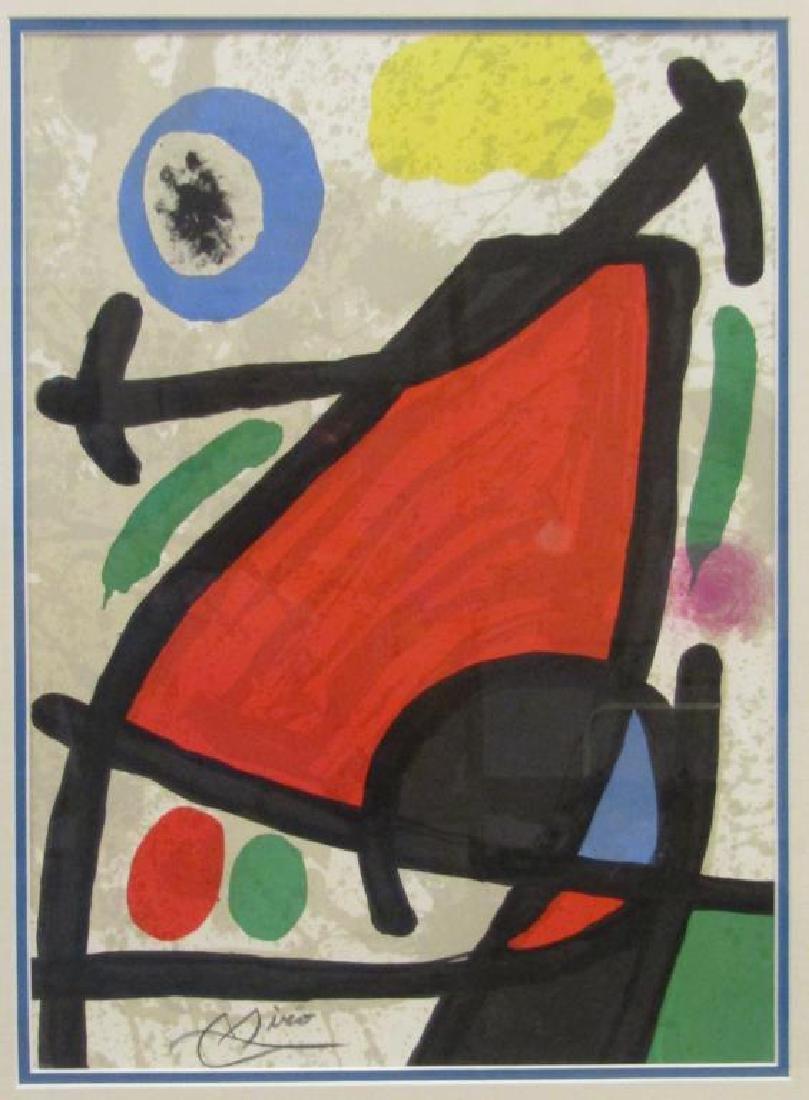 After Joan Miro - Print
