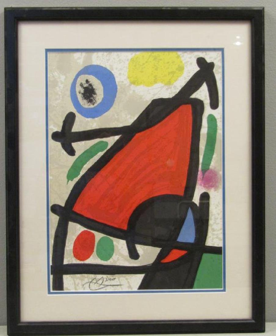 After Joan Miro - Print - 2