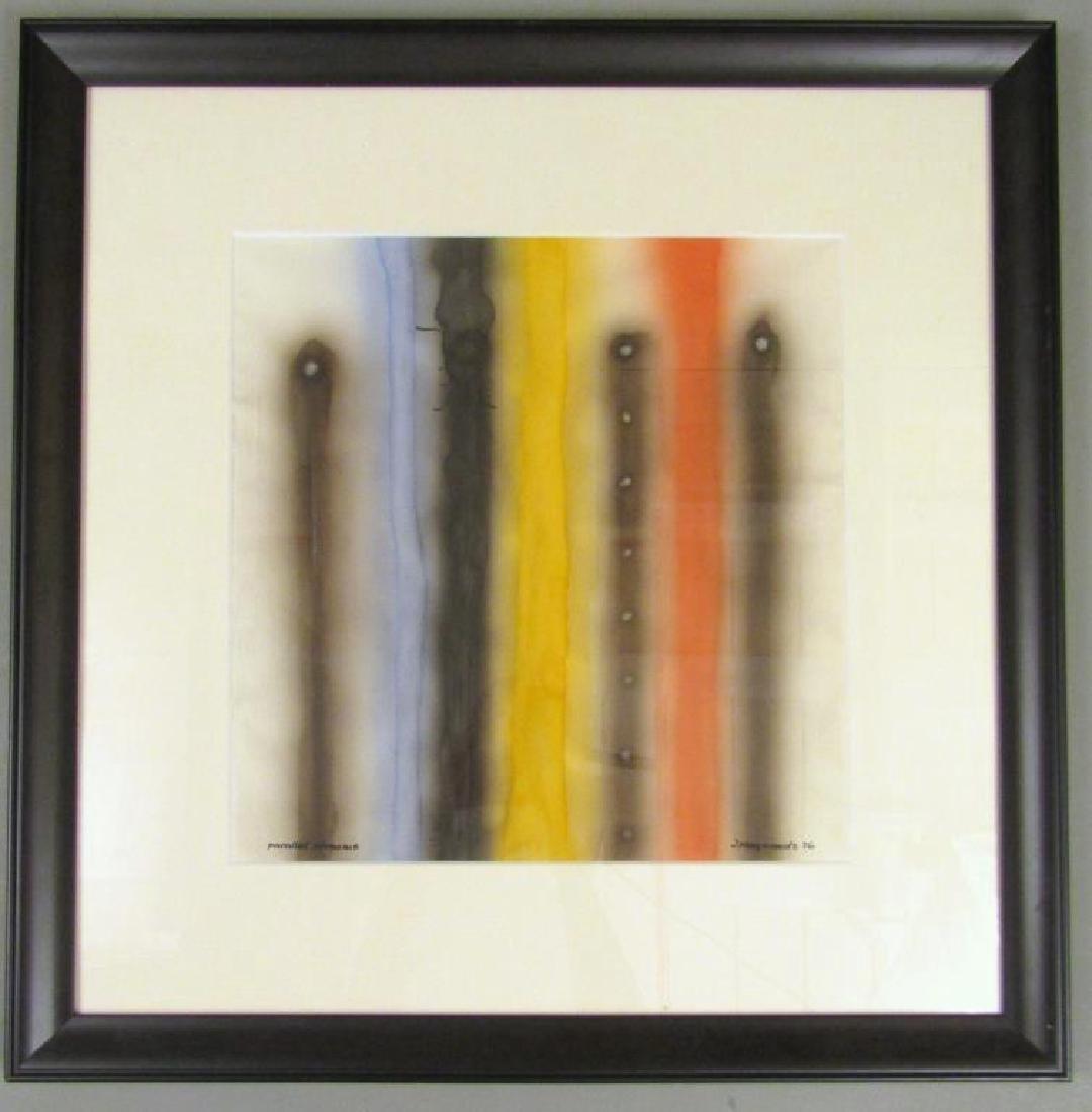 Signed J Meyerowitz - Watercolor - 2