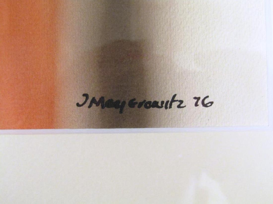 Signed J Meyerowitz - Watercolor - 5