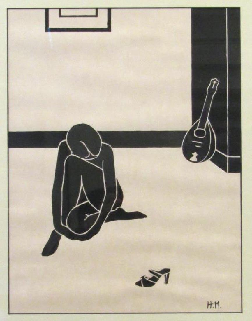 After Henri Matisse - Woodcut