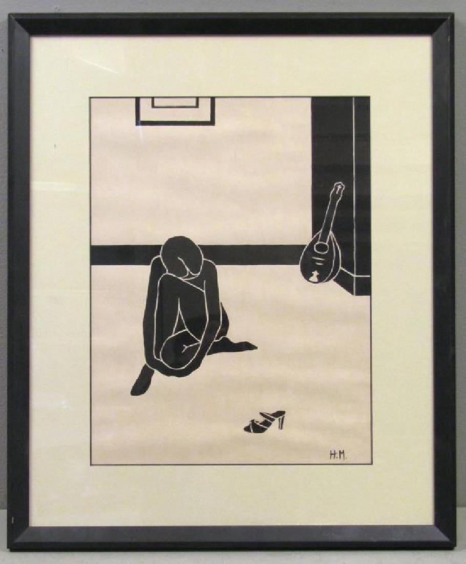After Henri Matisse - Woodcut - 2