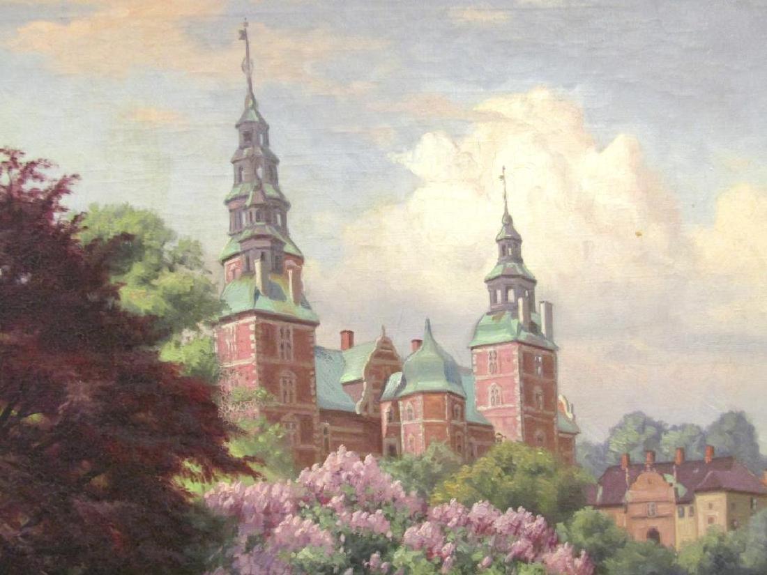 Signed Rosenborg - Oil on Canvas - 3