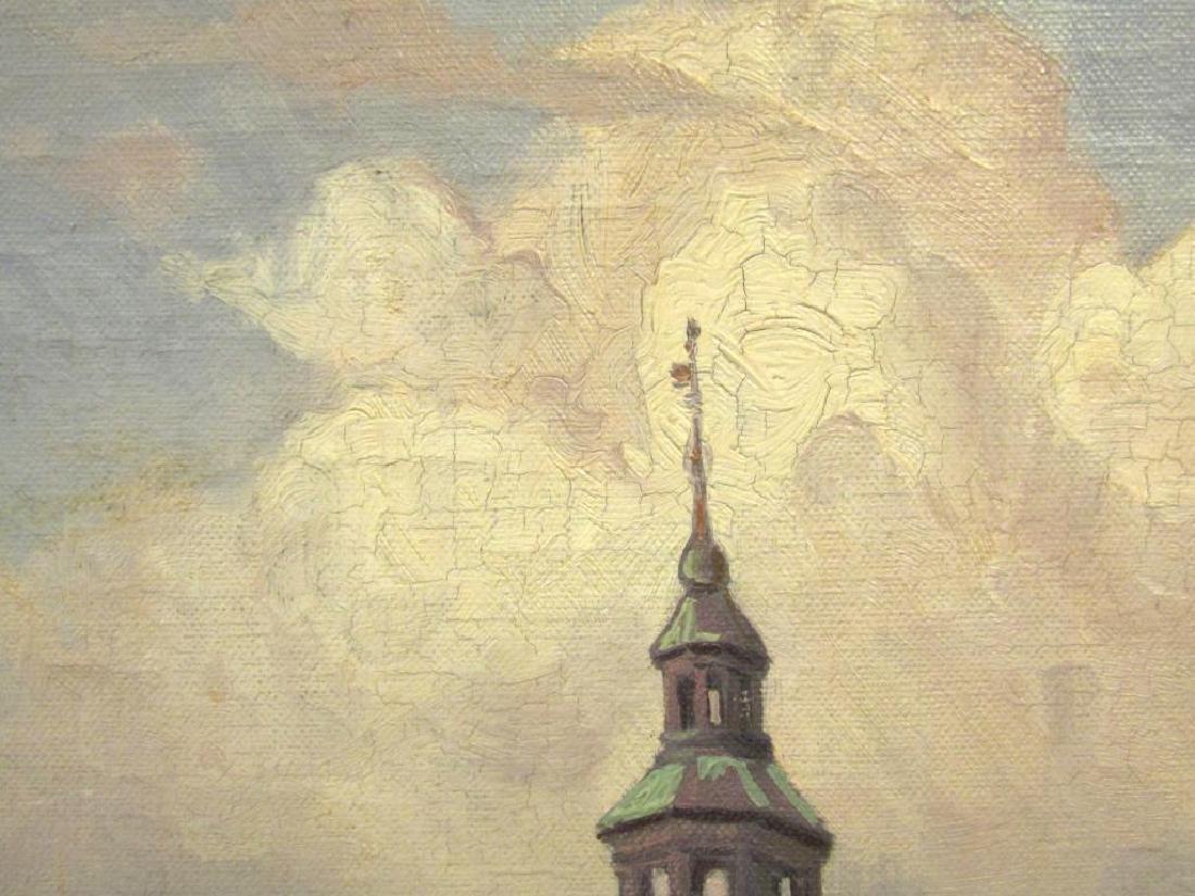 Signed Rosenborg - Oil on Canvas - 5