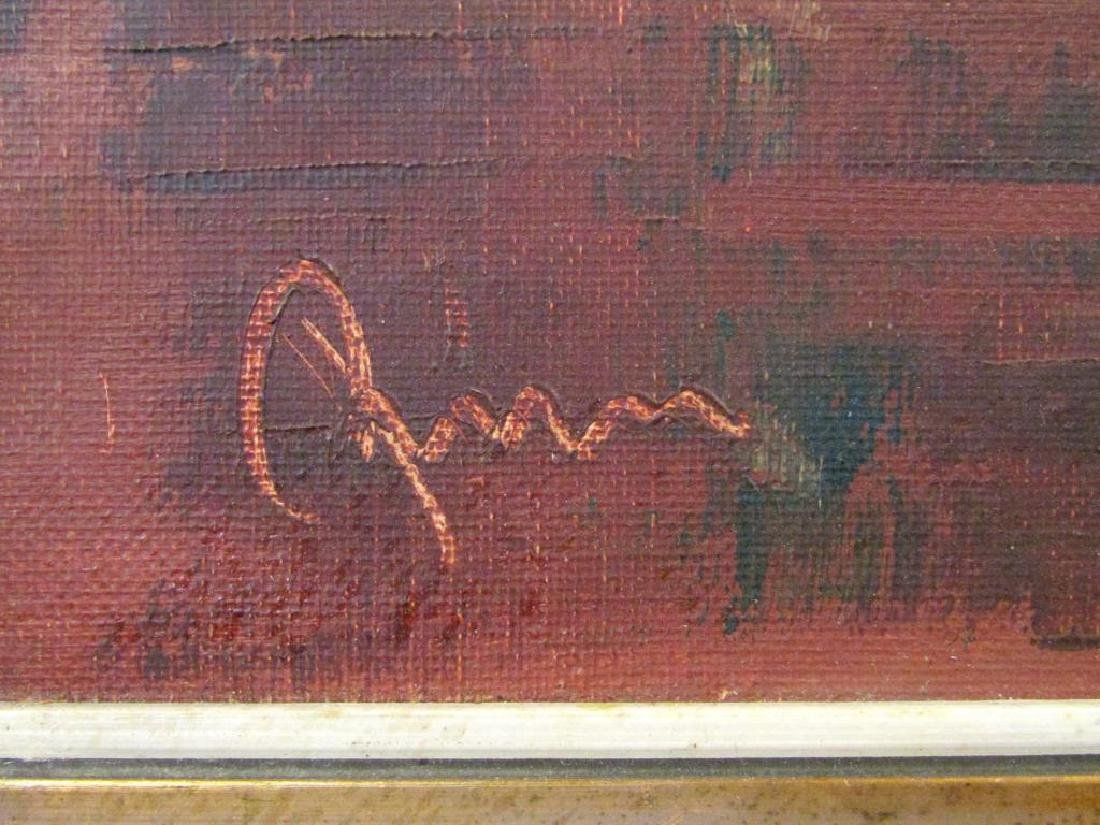 Signed Illegibly - German Oil on Canvas - 4