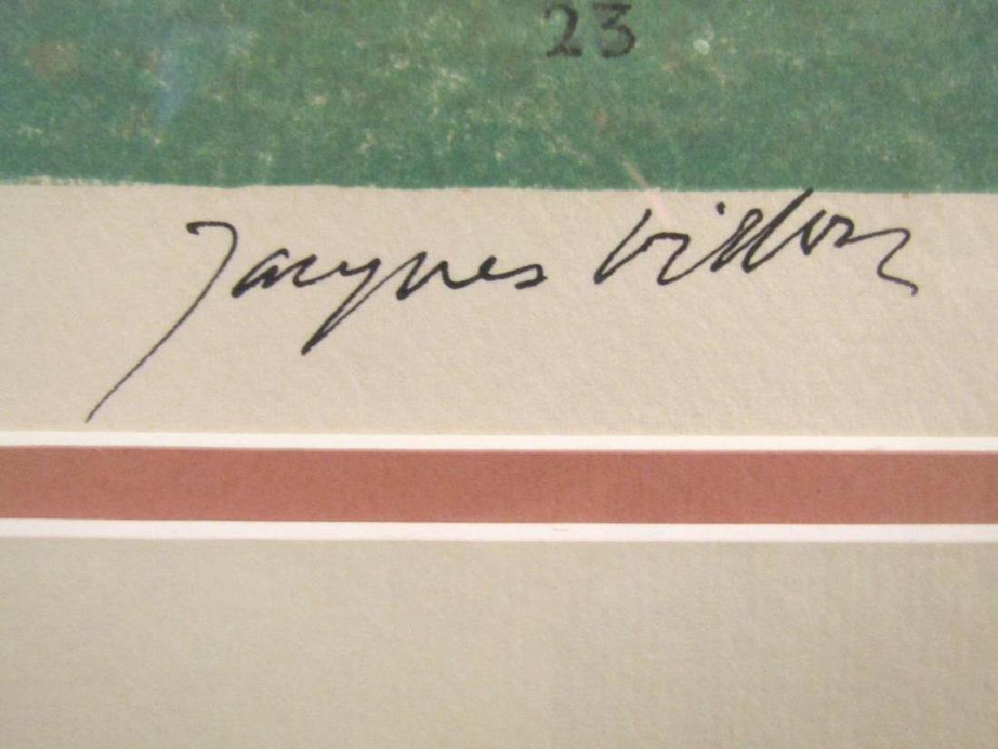 Jacques Villon - Lithograph - 8
