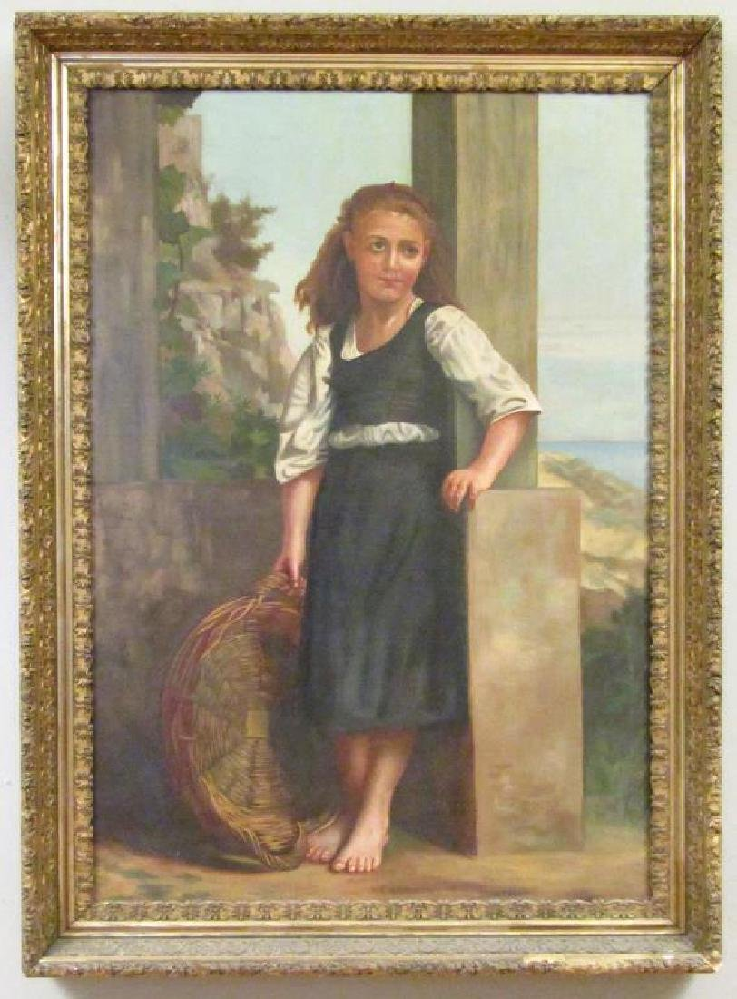 Manner of Bougereau - Oil on Canvas - 2