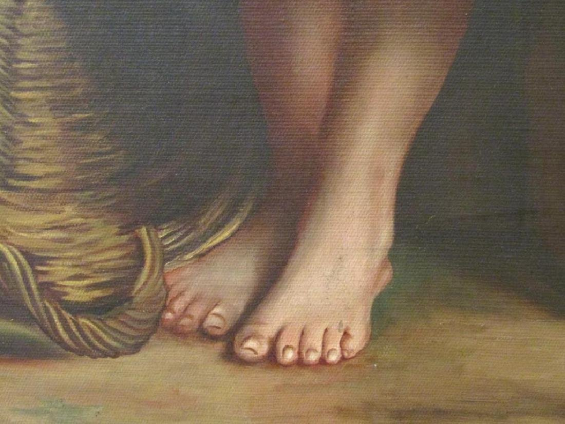 Manner of Bougereau - Oil on Canvas - 4