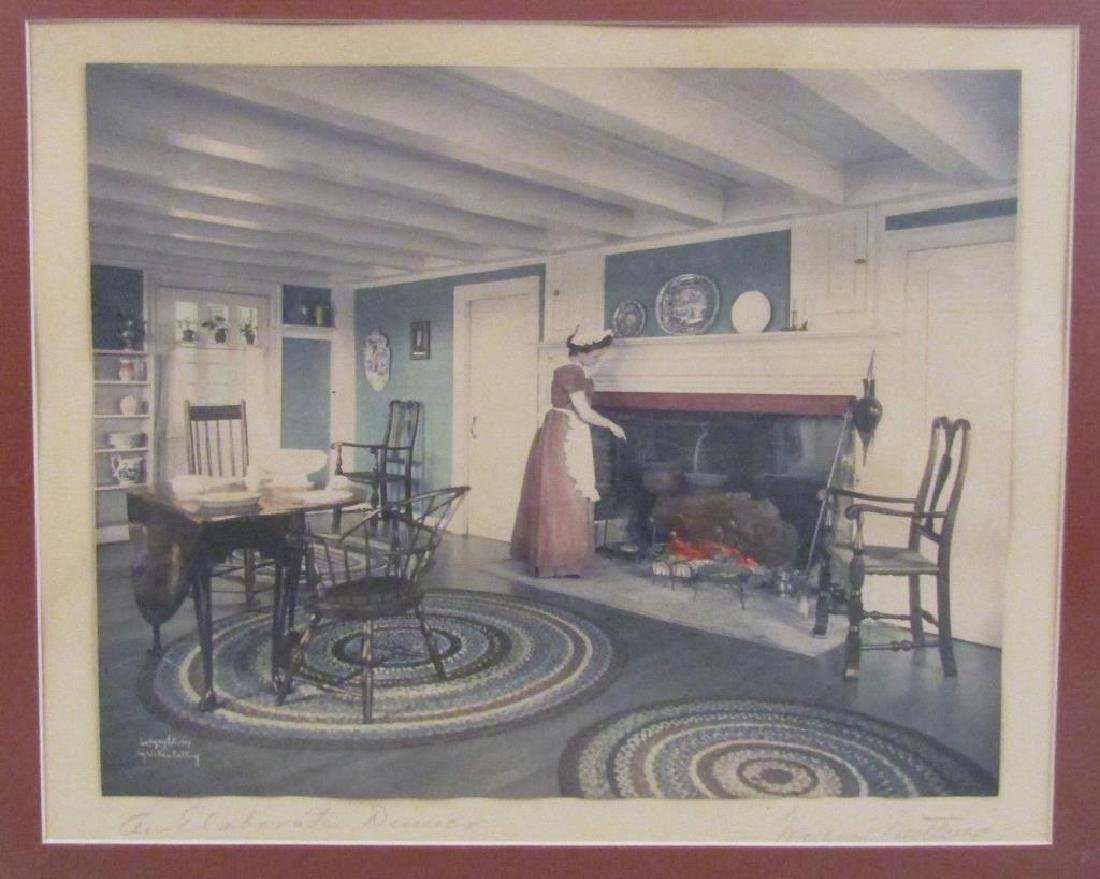 Wallace Nutting - Chromolithograph