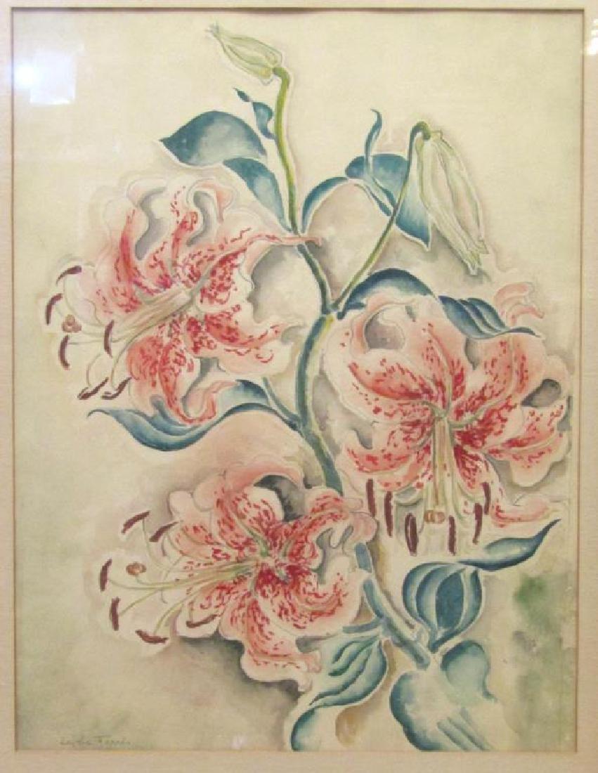 Edythe Ferris (American, b. 1897) - Watercolor