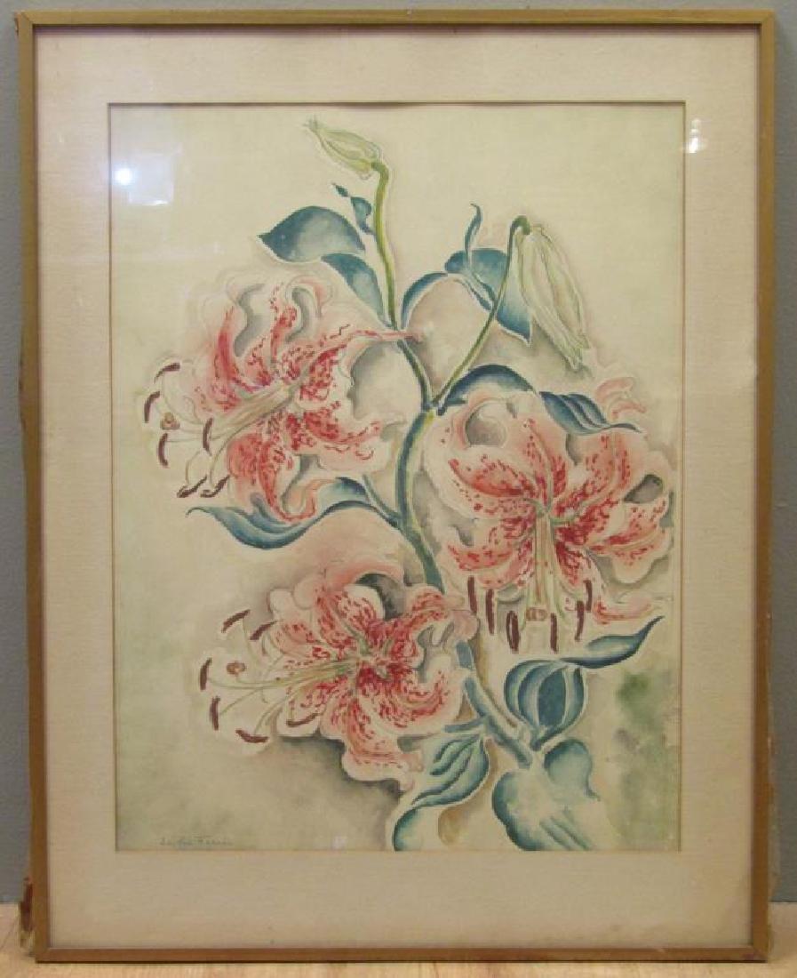 Edythe Ferris (American, b. 1897) - Watercolor - 2